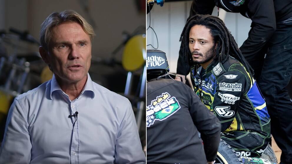 SVT:s expert Erik Stenlund, Antonio Lindbäck.
