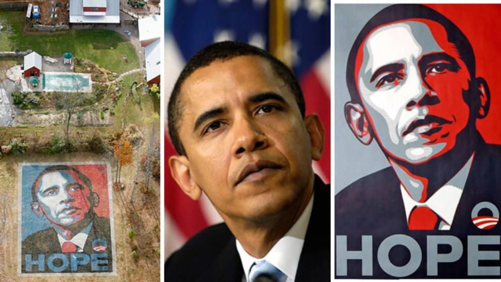 """Shepard Fairey, konstnären bakom Obamalägrets mest ikoniska valposter """"Hope"""", har dömts för brott mot upphovsrätten."""