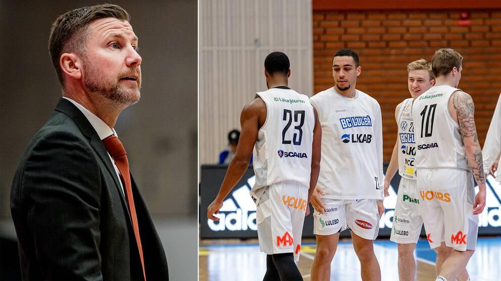 BC Luleåtränaren Peter Öqvist är smittad med covid-19 – vilket skapat oro i spelartruppen.