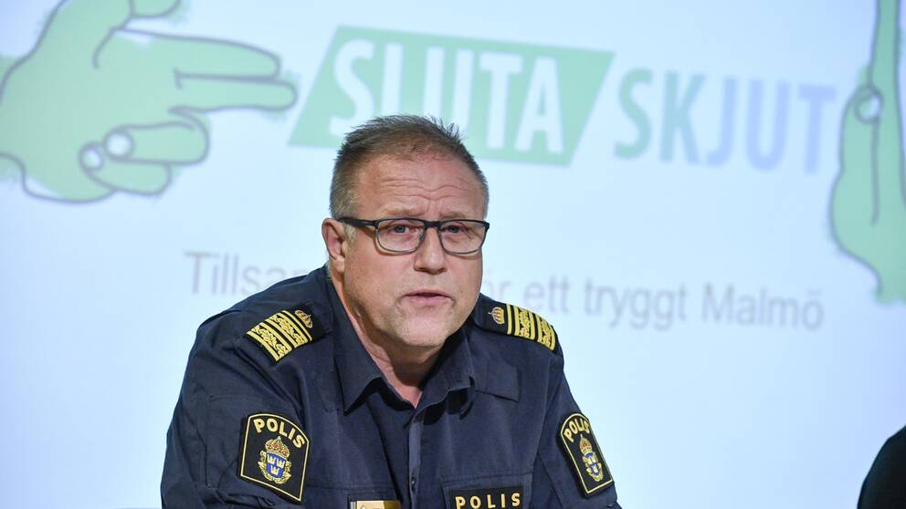 Malmös polismästare Stefan Sintéus