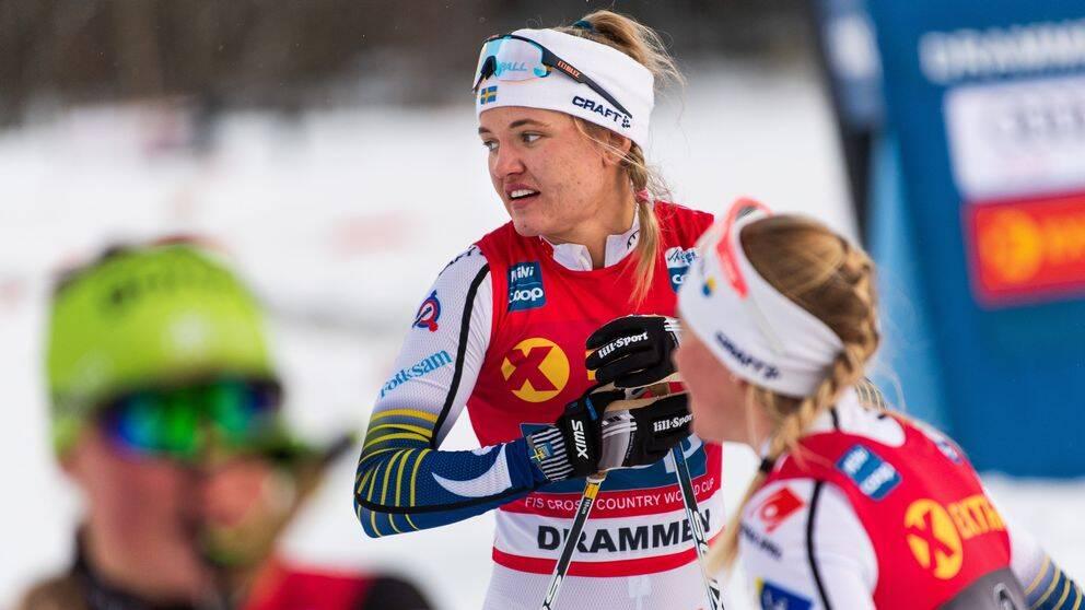 Linn Svahn tog hem sprintcupen i fjol.