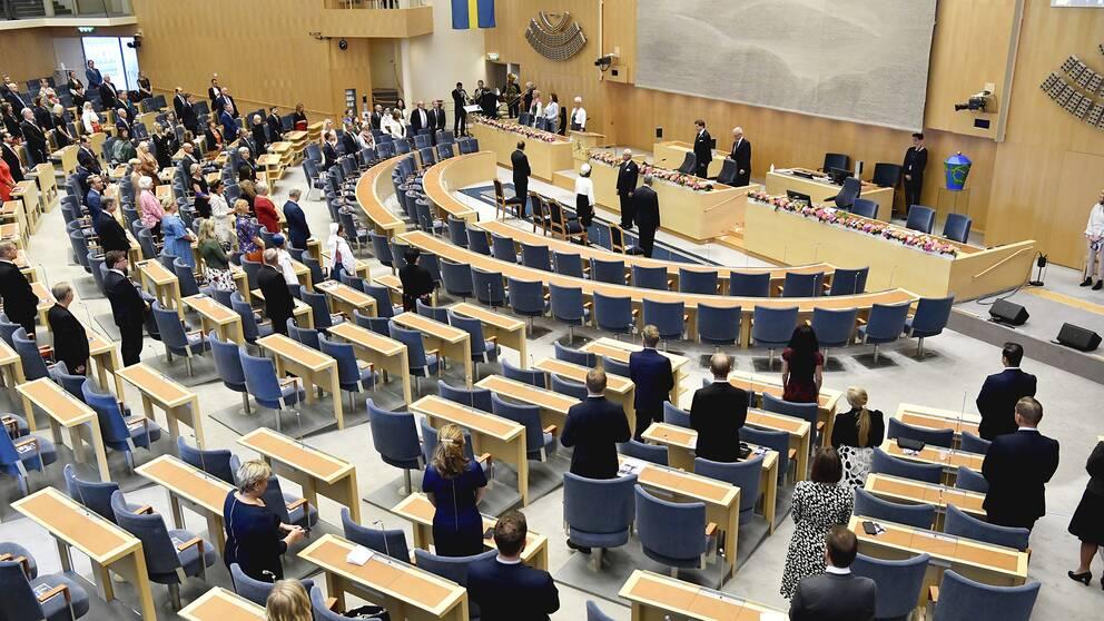 Sveriges riksdag, kammaren.