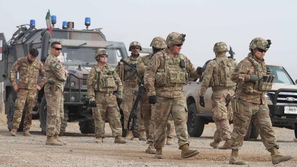 Amerikanska soldater i Afghanistan. Arkivbild.