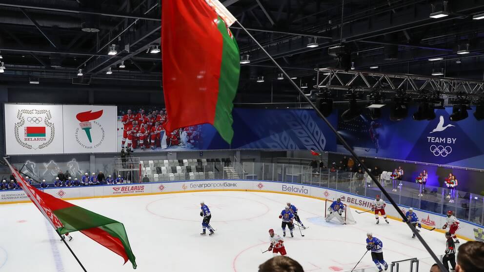 Det är oklart om det blir ishockey-VM i Belarus eller ej.