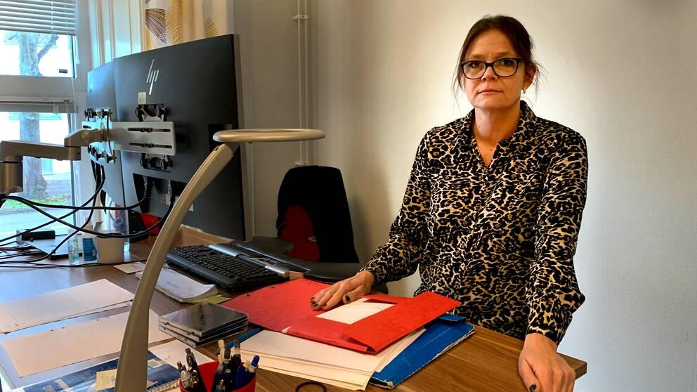 Ann-Sofie Loverin, polisinspektör