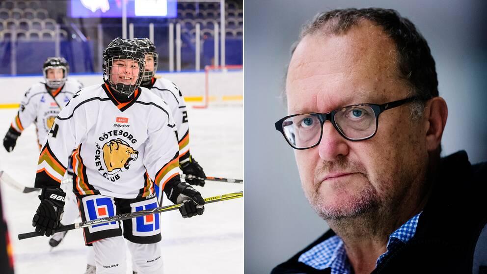 Göteborgs Elin Svensson och ordförande Jan Mellgren.