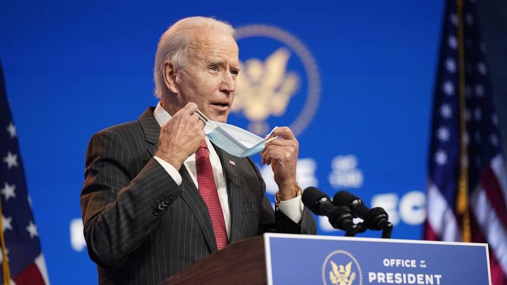 USA:s tillträdande president Joe Biden.