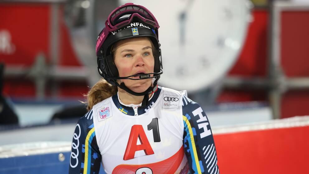 Anna Swenn-Larsson är frustrerad över det uteblivna tävlandet i Levi. Arkivbild.