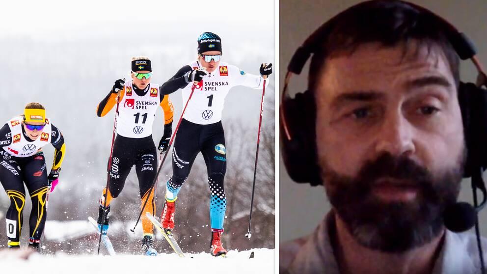 Landslagsläkaren Per Andersson tycker att det är ett svårt beslut hur man ska göra med världscupppremiären i Ruka.