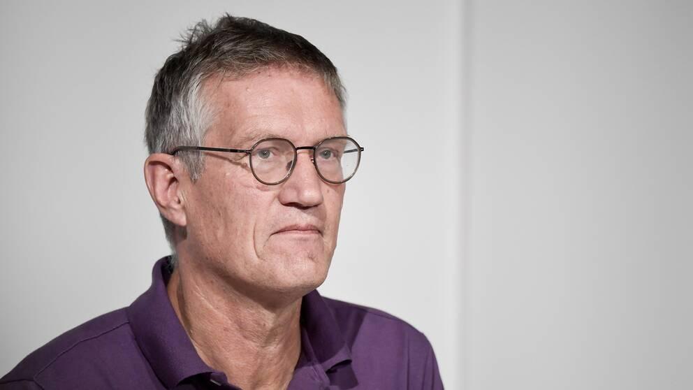 Anders Tegnell, statsepidemiolog, Folkhälsomyndigheten.