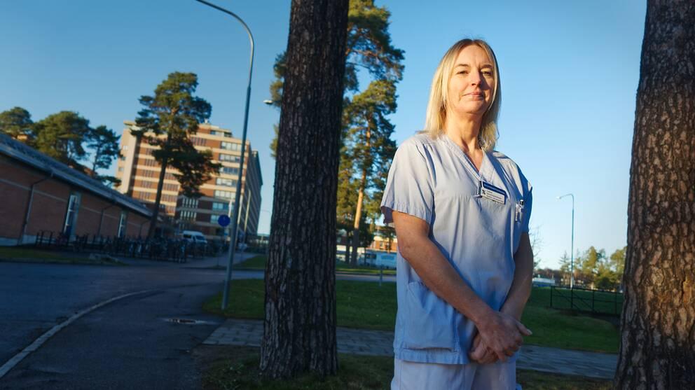 Catarina Lindström, IVA-sköterska, Gävle sjukhus.