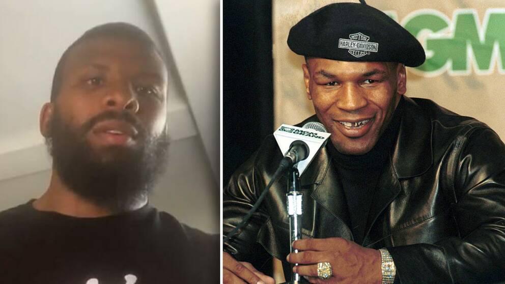 Svenske boxaren Badou Jack och legendaren Mike Tyson är polare.