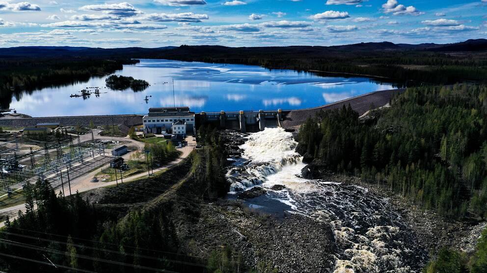 Vattenkraftverket Laforsen utanför Kårböle.