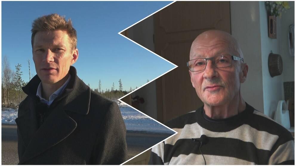 Christian Rimpi och Michael Nordh.