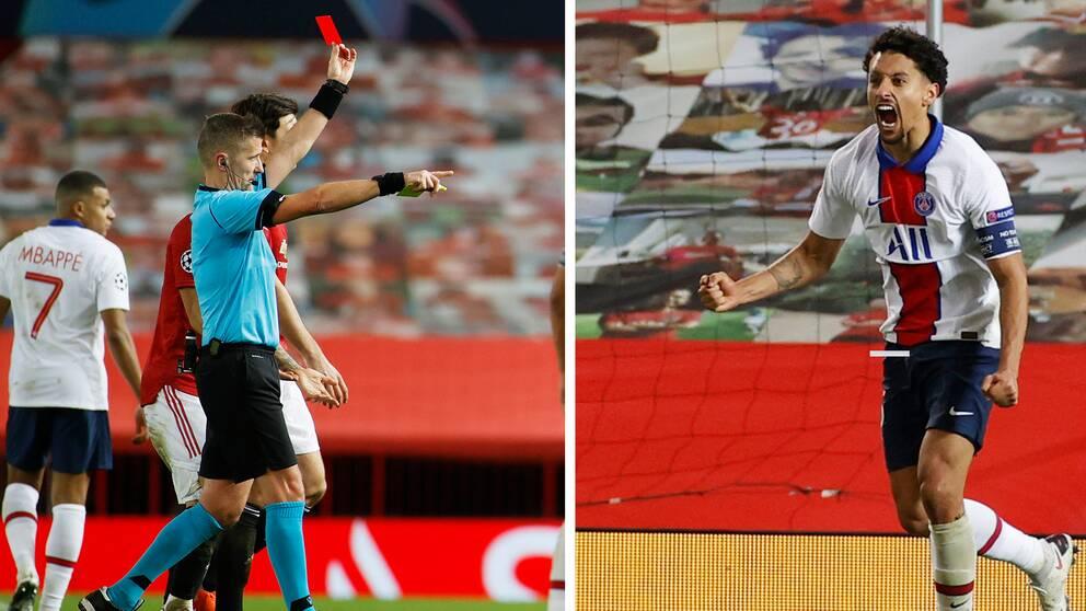 Olycksminuten knäckte United – stort drama i gruppen efter PSG:s vinst