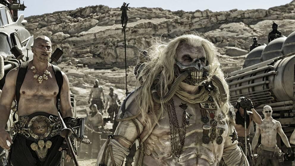 Hugh Keays-Byrne som Immortan Joe i Mad Max: Fury road.
