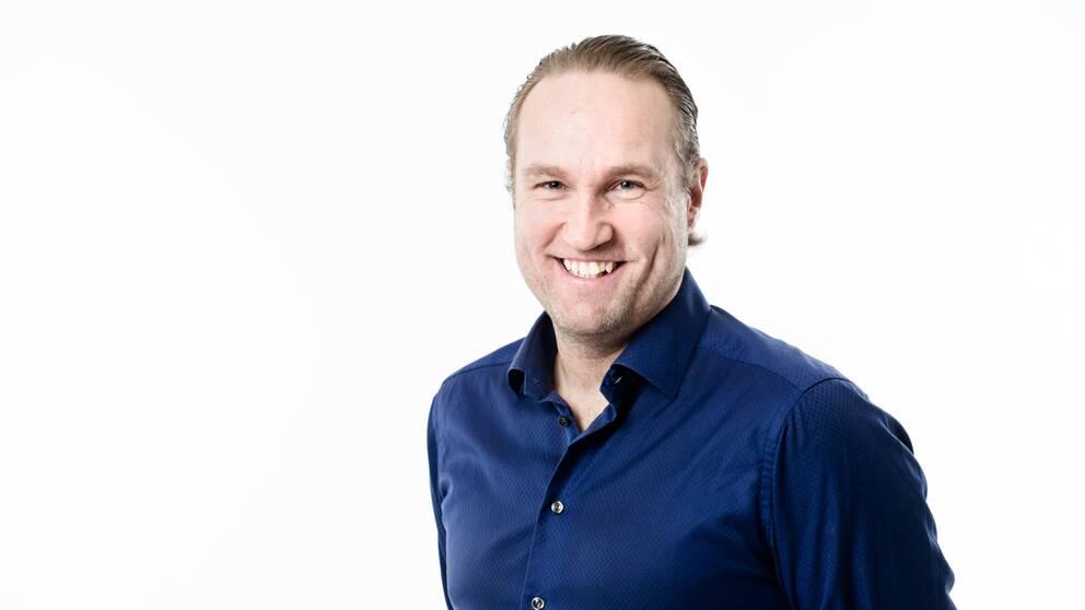 SVT:s Chris Härenstam.