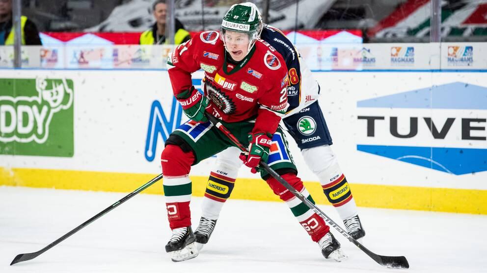 Frölundas Karl Henriksson missar JVM.