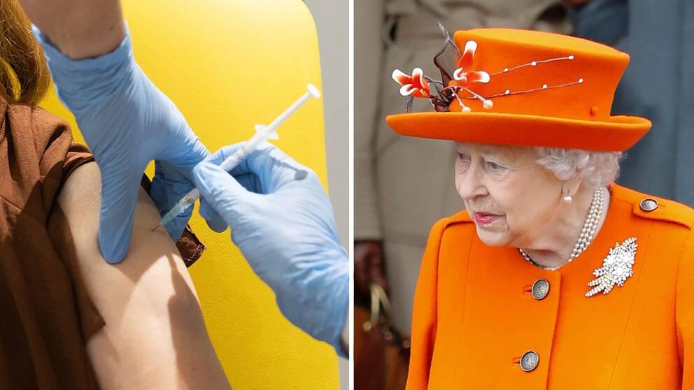 Drottning Elizabeth är en av de första som kommer erbjudas vaccinet.