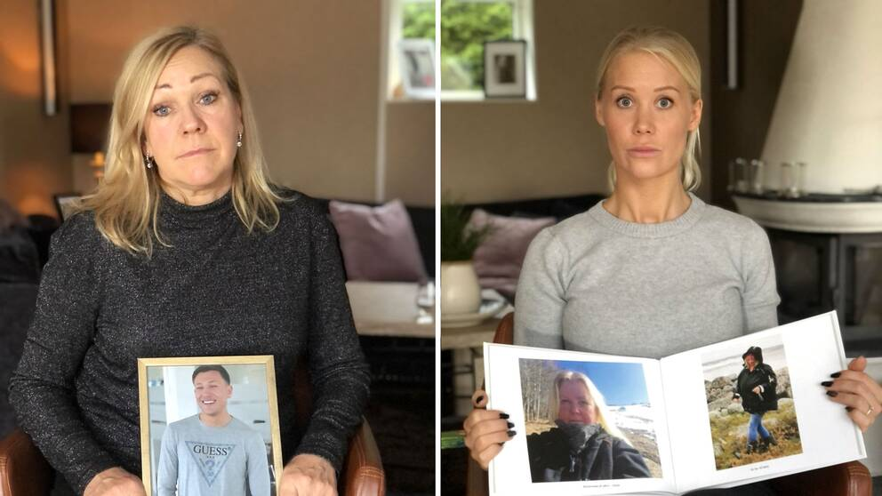 Hör Therese och Susanne berätta om sorgen som knivvåldet orsakat.