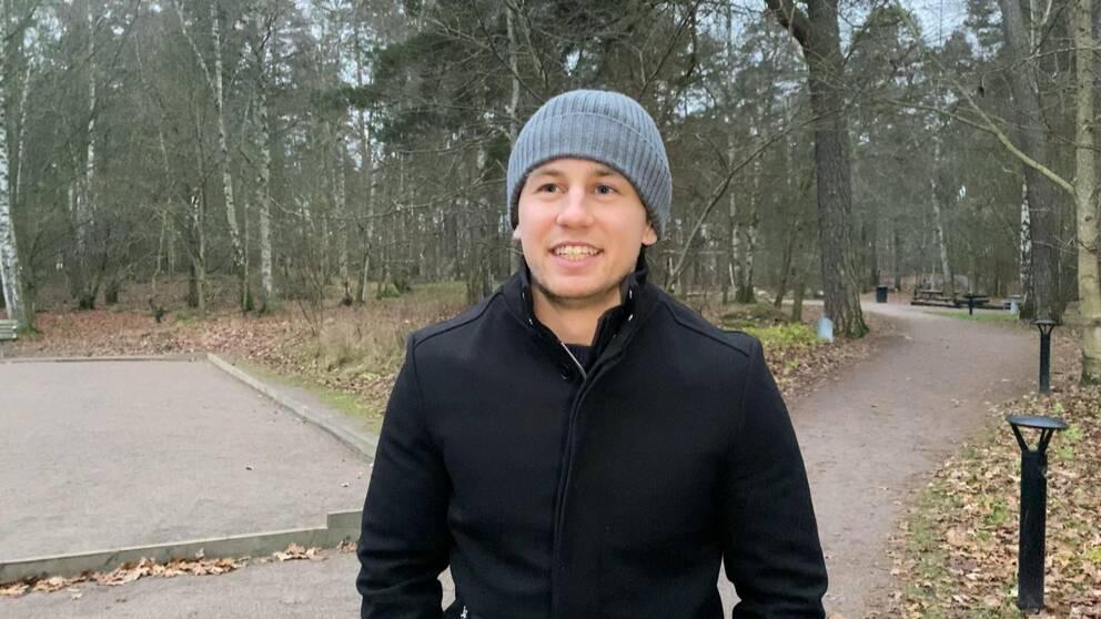 Johannes Tödt, läkarstudent i Linköping.