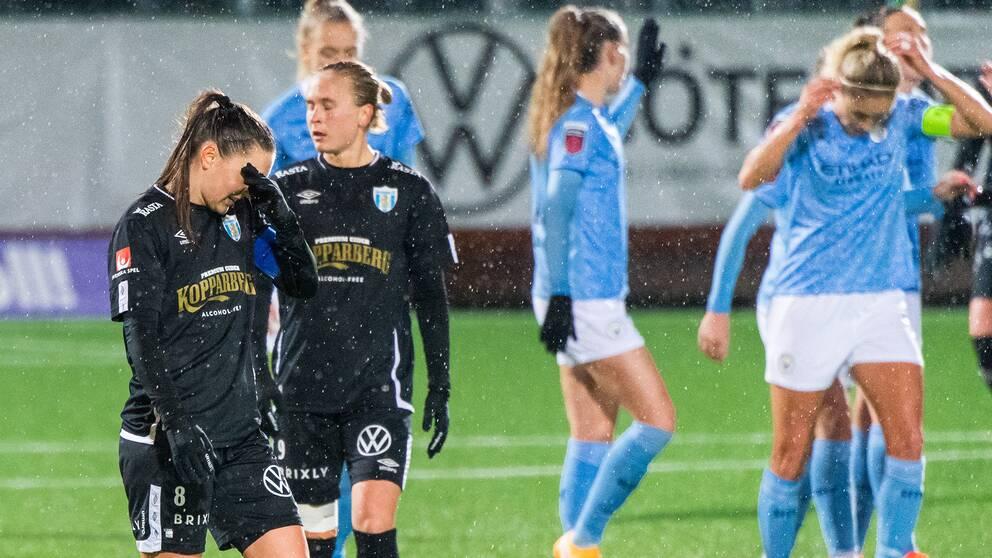 Manchester City kom tillbaka efter Göteborgs drömstart.