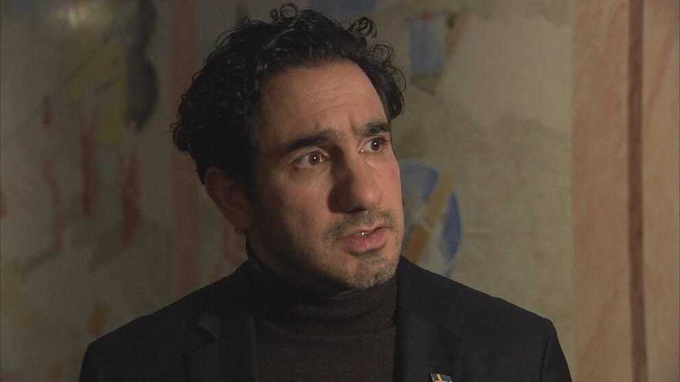 Porträttbild på ministern.