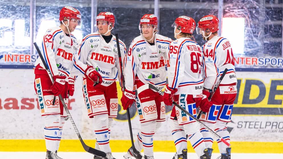 Timrå slog rekord i hockeyallsvenskan.