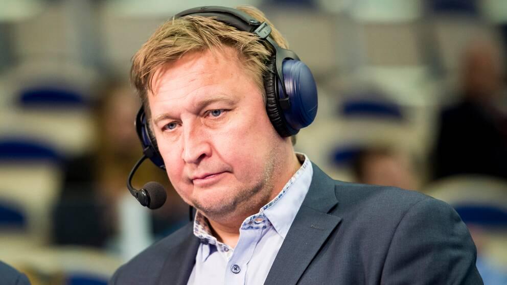 SVT:s expert Magnus Grahn.
