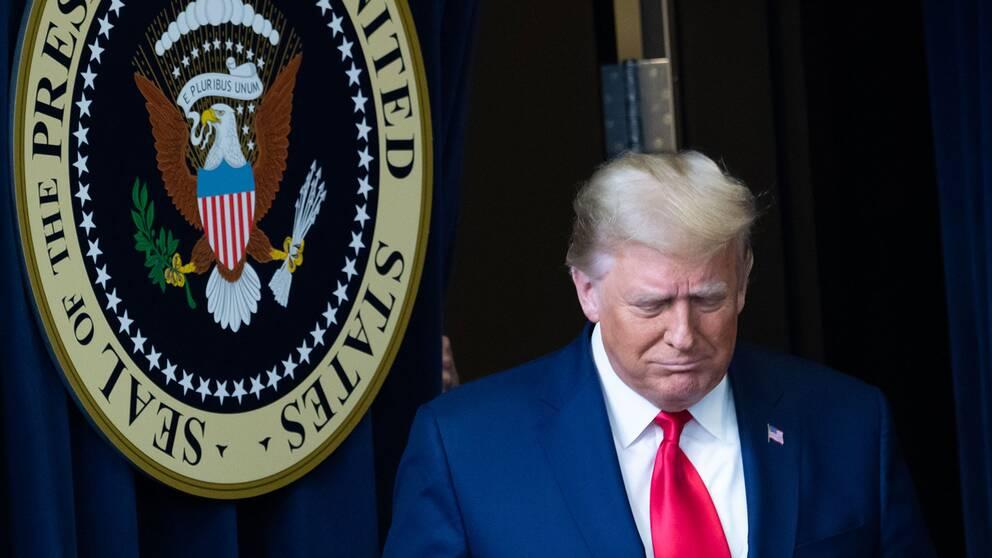 USA:s president Donald Trump