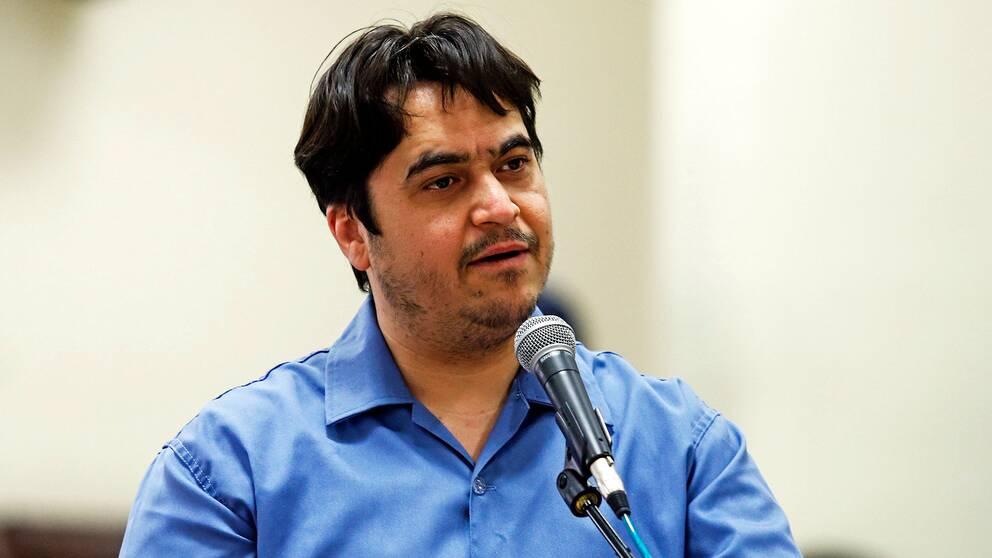 Den iranske journalisten Ruhollah Zam
