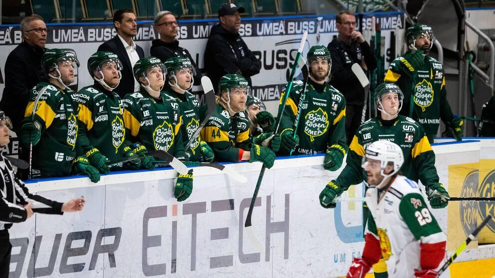 Björklöven tappade 3-0 till 3-7 mot Mora.