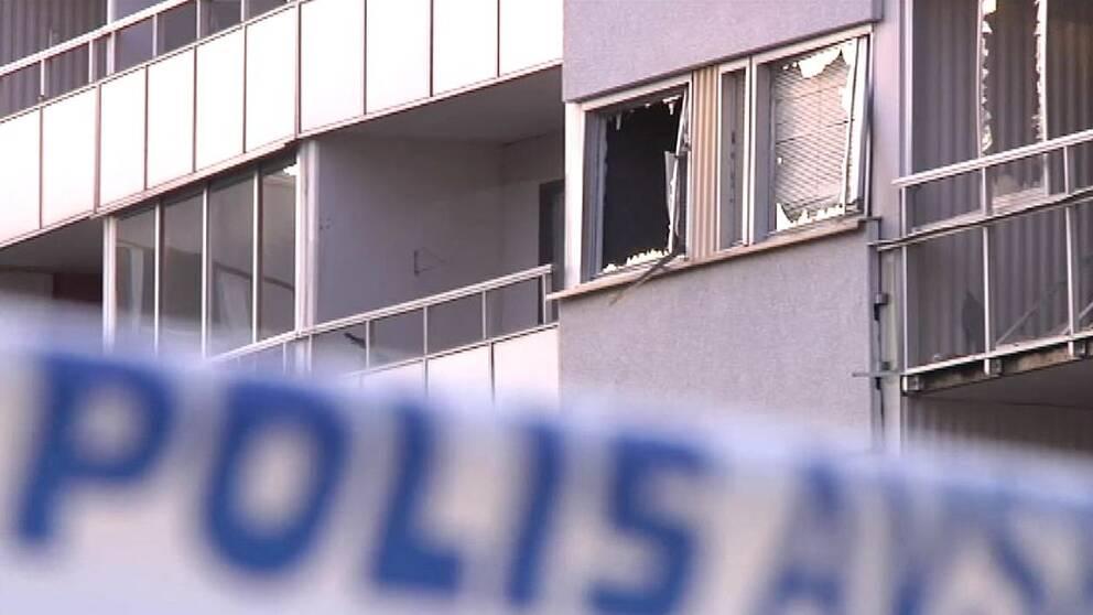 Man anhallen efter dodlig explosion