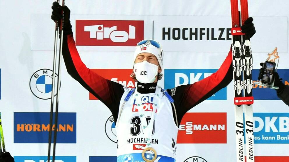 Sturla Holm Lägreid tog sin andra världscupseger.