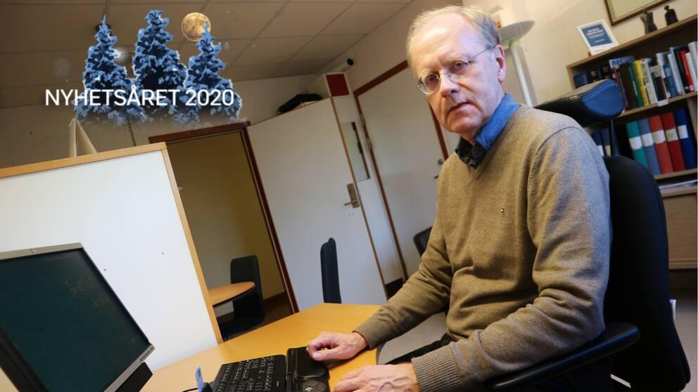 Blekinges smittskyddsläkare Bengt Wittesjö hälsar gott nytt år