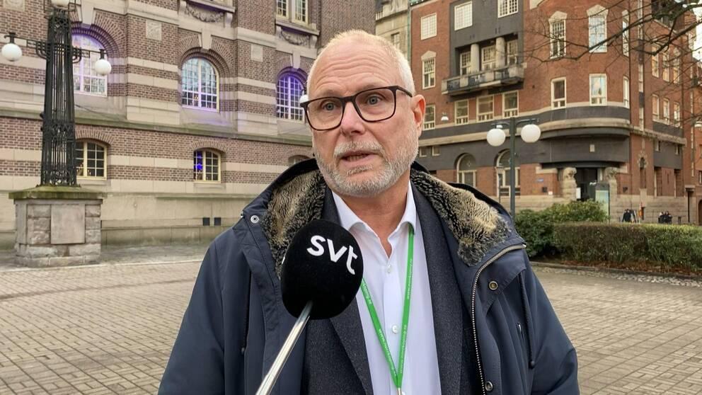Richard Tjernström, Norrköpings kommuns säkerhetschef