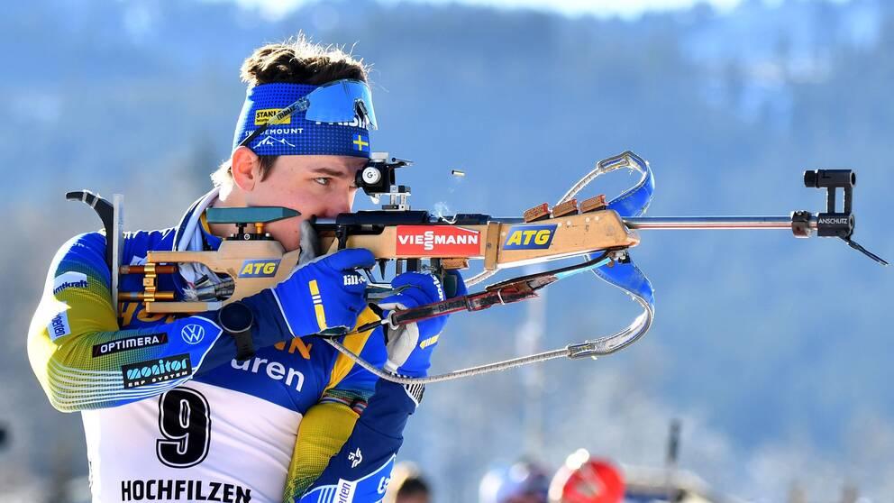 Martin Ponsiluoma blev bäste svensk i onsdagens sprint.