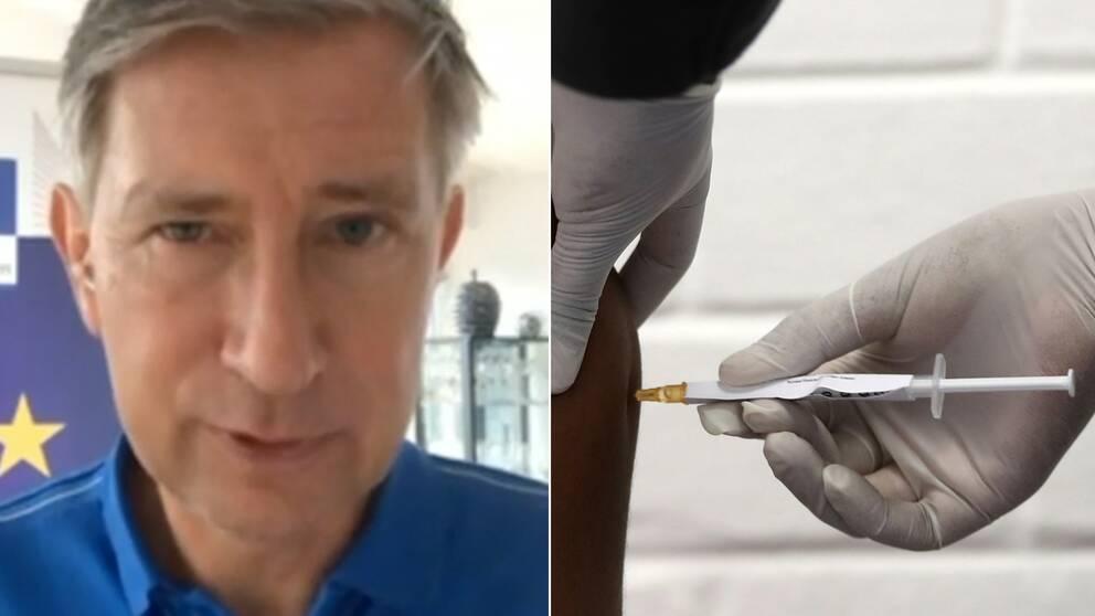 Pfizer/Biontechs vaccin mot covid-19 har fått ett första godkännande av EU:s läkemedelsmyndighet EMA.