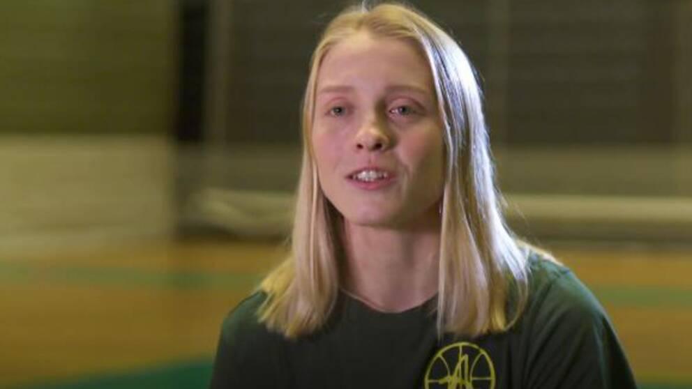 Alviks stjärna Klara Lundquist.