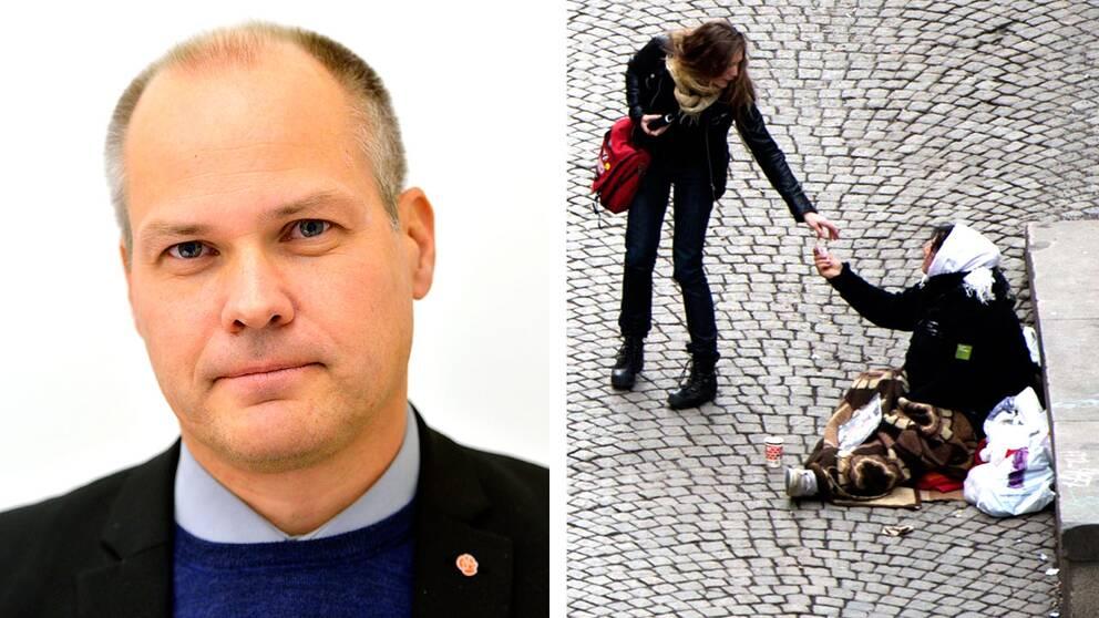 Nu öppnar Morgan Johansson för att eventuellt se över lagen om människohandel.