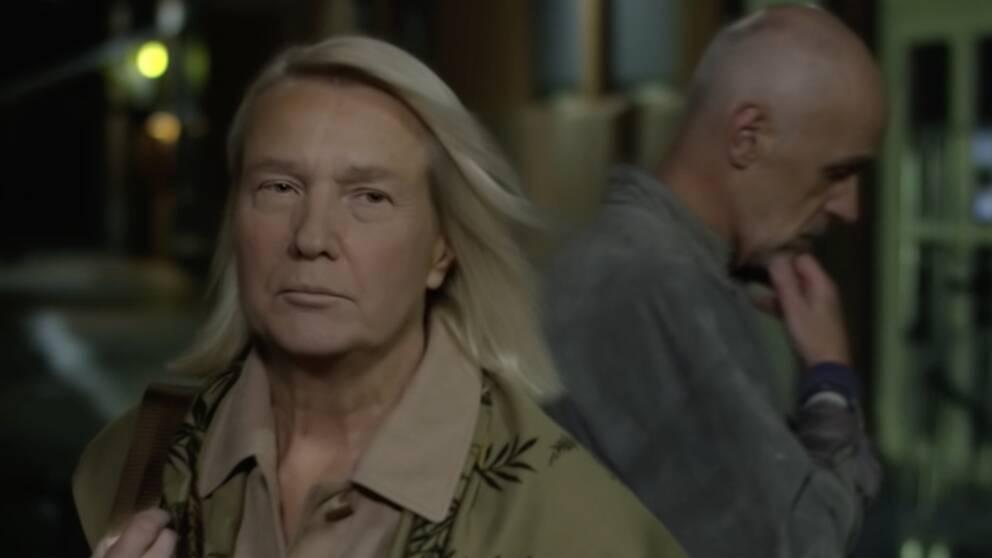 Sally, som är lik Donald Trump, i kortfilmen Grab them.