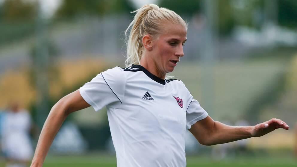 Sofia Jakobsson avgjorde för Real Madrid i La Liga.