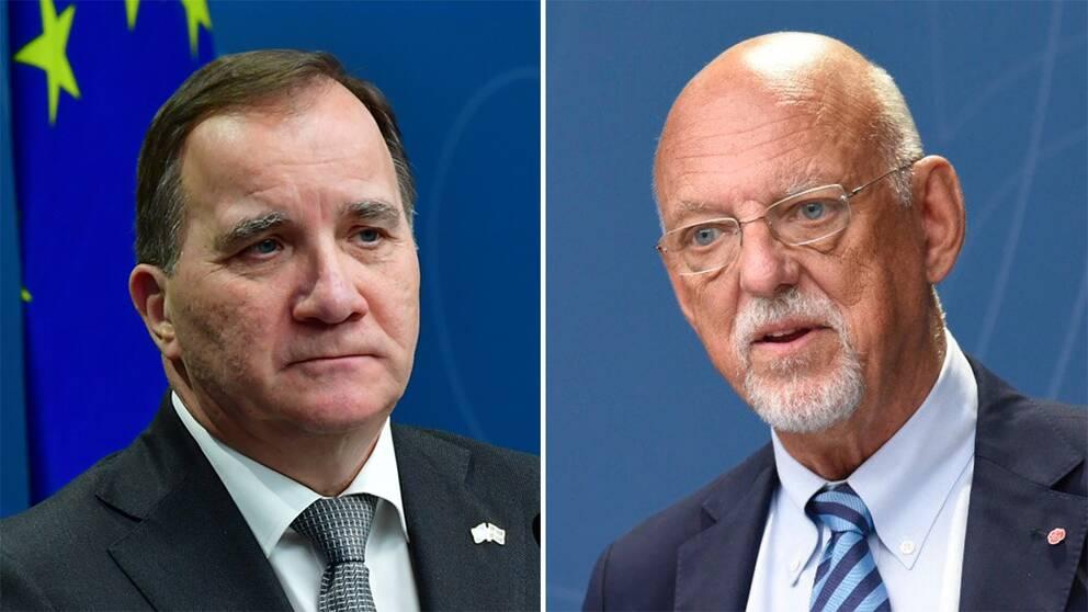 Stefan Löfven, statsminister, och Hans Dahlgren, EU-minister.