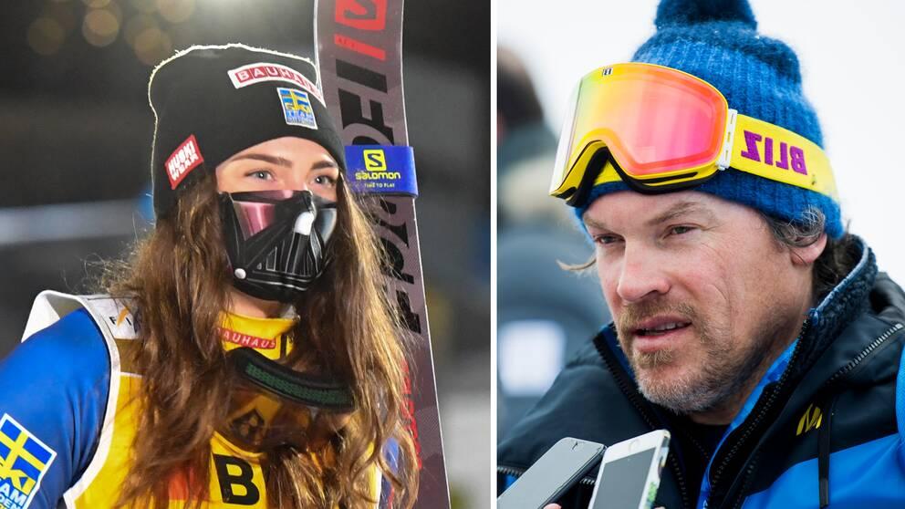 Alexandra Edebo ska vara tillbaka på skidor i nästa vecka, enligt tränaren Eric Iljans.