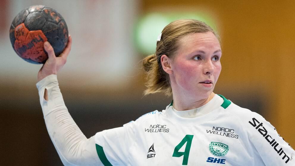 Skurus Alexandra Bjärrenholt gjorde sju mål mot Skara.