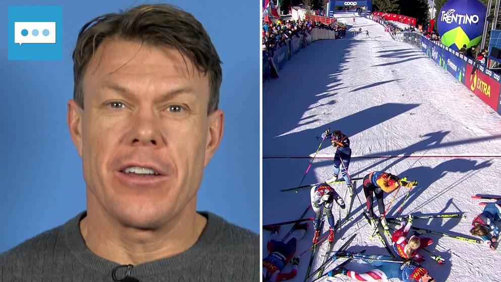 Fredriksson om avslutningen i Tour de Ski