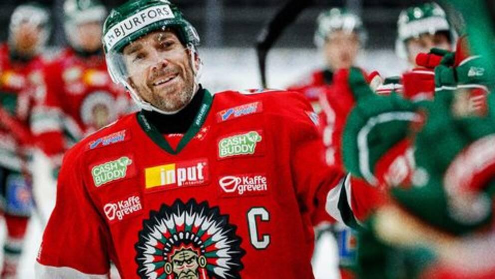 Joel Lundqvist fick jubla direkt i comebacken.