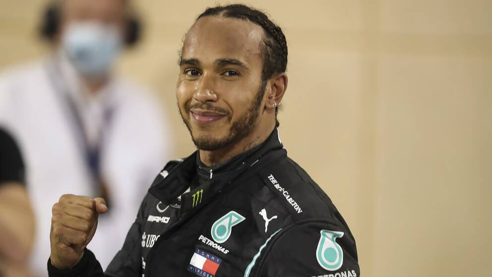 Numera Sir Lewis Hamilton.