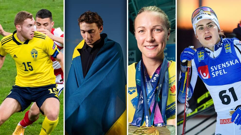 Dejan Kulusevski, Armand Duplantis, Sarah Sjöström och Ebba Andersson är några av de svenska idrottsstjärnorna man bör följa under 2021.