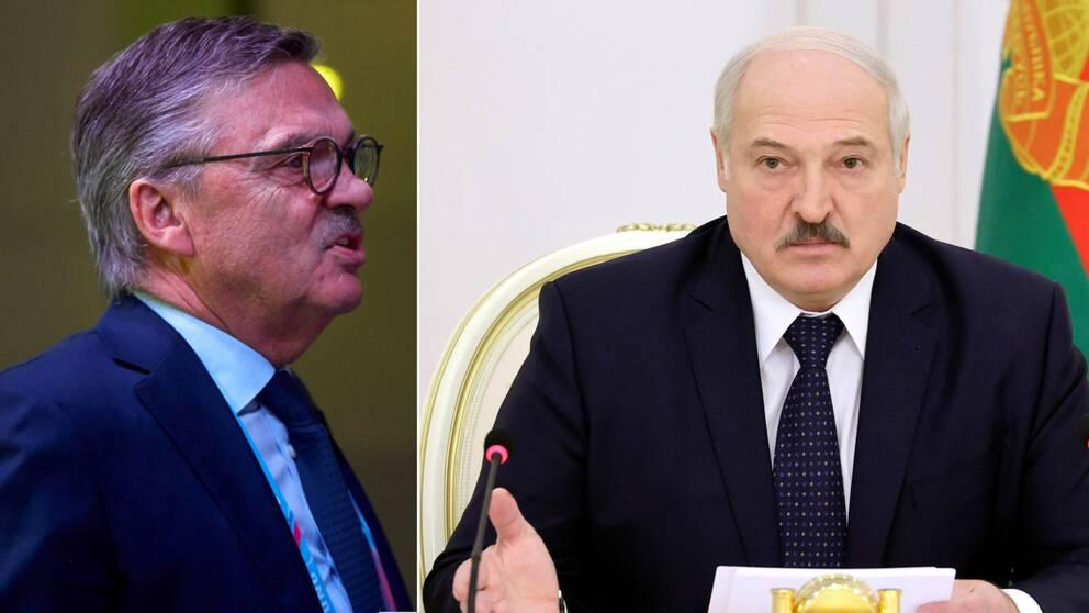 IIHF:s ordförande René Fasel säger att ett beslut om VM i Belarus kommer snart.